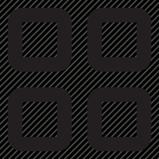 grid, home, menu icon