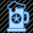 beer, mug, drink, alcohol, celebrate