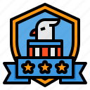 eagle, usa, america, shield, united, states, 4th of july