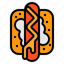 hot, dog, food, sausage, culture, junk