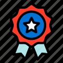 badge, honor, star, united states, united states of america, usa icon