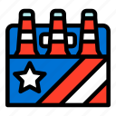 4th of july, beer, drink, party, six pack beer, united states of america