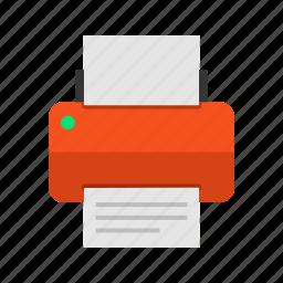 device, printer, printing icon