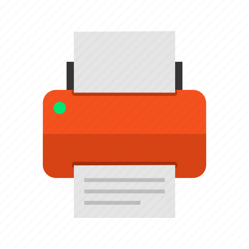 device, print, printer, printing, technology icon