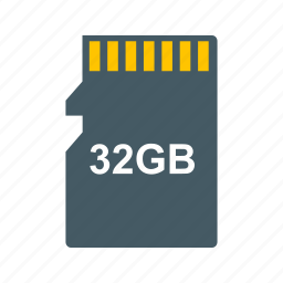 cloud, file, memory card, storage icon