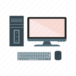 computer, device, monitor, pc, screen icon
