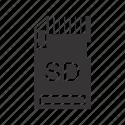 data, file, memory card, storage icon