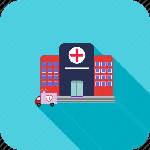 clinic, healthcare, hospital, medical icon