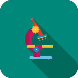 biology, experiment, lab, microscope, research, science, test icon