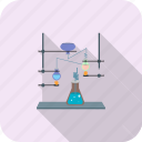 chemical, chemistry, experiment, laboratory, medical, research, scientific icon