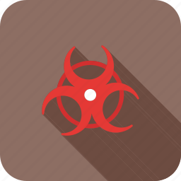 biohazard, hazard, healthcare, medical, sign icon