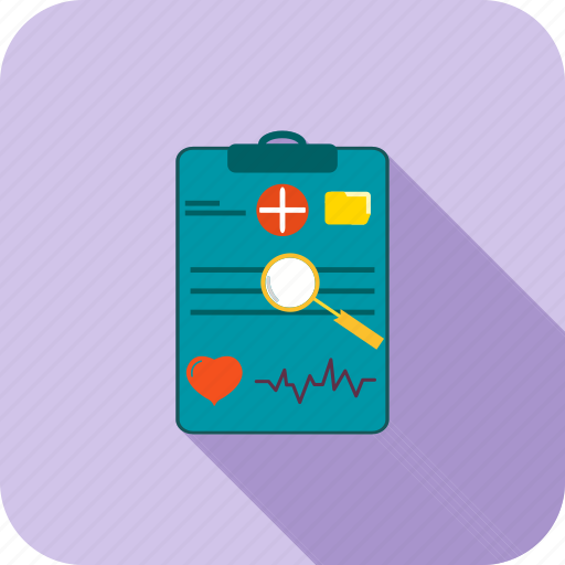 chart, diagram, graph, list, medical, report icon