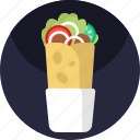 asian, food, restaurant, meal, shawarma, fastfood