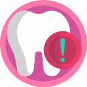 dental, caries, sick, tooth, unhealthy