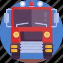 emergency, truck, firetruck, fire brigade, fire engine, fire truck