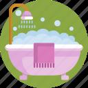 feminine, hygiene, bathtub, bath, bathroom