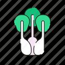 vegetable, celery, healthy icon
