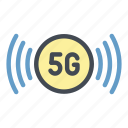 5g, network, internet, wifi, signal