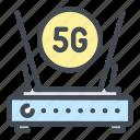 5g, network, internet, wifi, modem, router