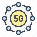 5g, network, internet, connection, web, communication