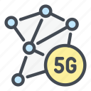 5g, network, internet, link, chain, connect, connection