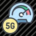 5g, network, internet, speed, dashboard