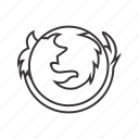 firefox, logo icon