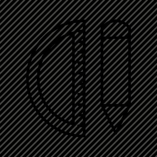 geometry, tools icon