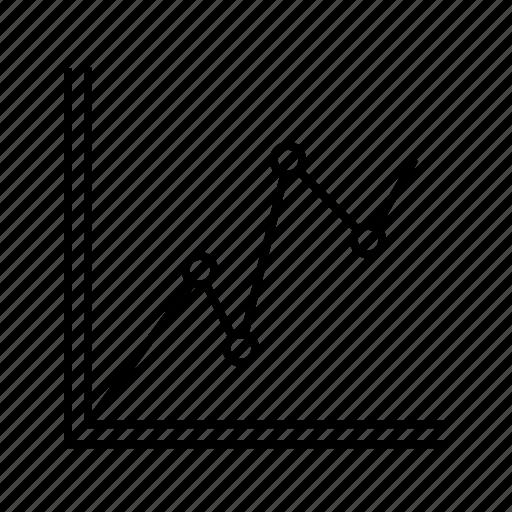 graph, statistical icon