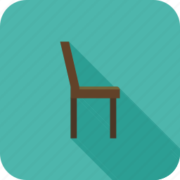 chair, furniture, households icon