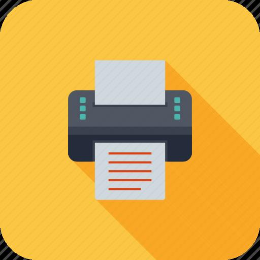 device, machine, print, printer, printing icon