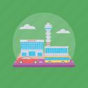 airport, airport building, airport terminal, architecture, public architecture icon