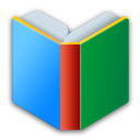 android, books, r icon