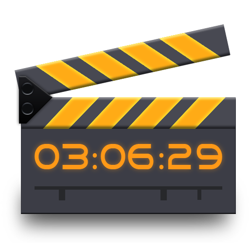 Movie, r, studio, video icon