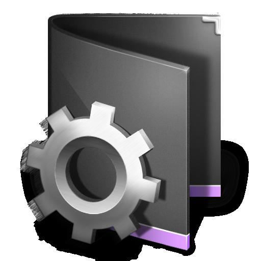 folder, smart icon
