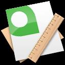 passport, quarkxpress icon