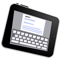 ipad, write icon