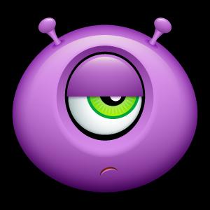 11, alien icon