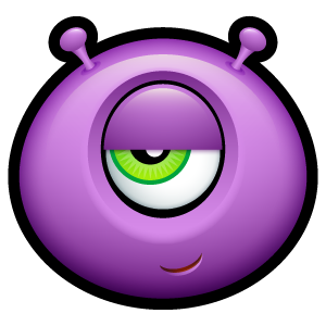12, alien icon