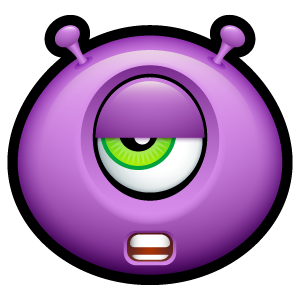 13, alien icon