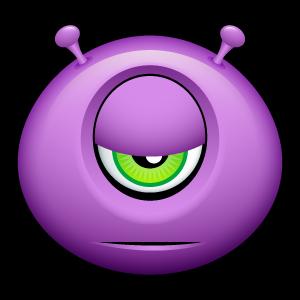 18, alien icon