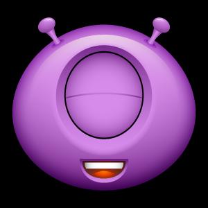 19, alien icon