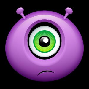 20, alien icon