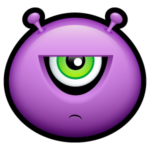 23, alien icon