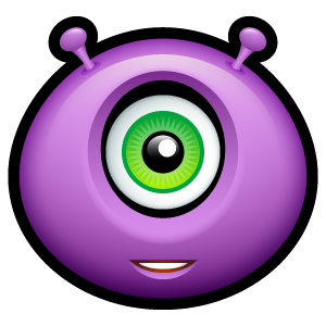 26, alien icon
