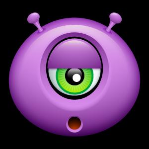 8, alien icon