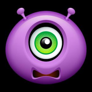 9, alien icon