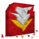 destroy, flashget icon