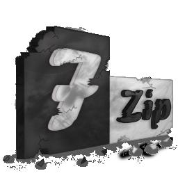 destroy, zip icon
