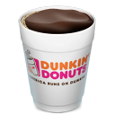 coffee, drink, dunkin donuts, open icon